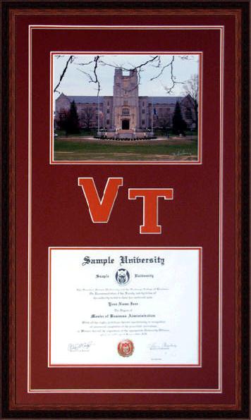 Virginia Tech Www Diplomaframesplus Com